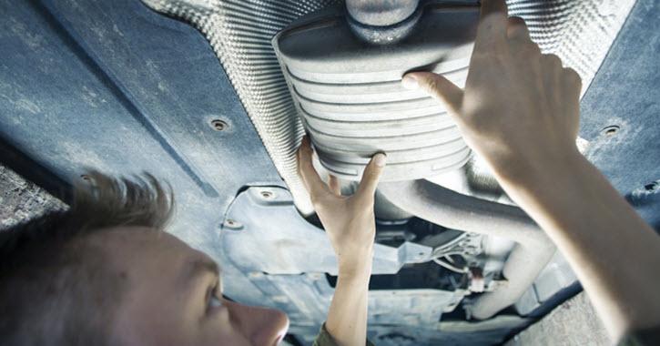 Volkswagen Exhaust Pipe Check