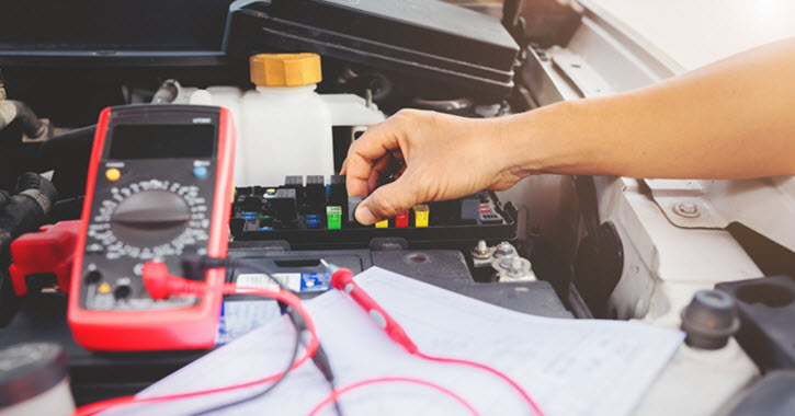 Audi Specialist Checking Fuses