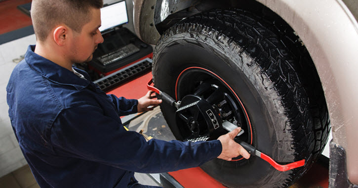 Sprinter Wheel Alignment Check