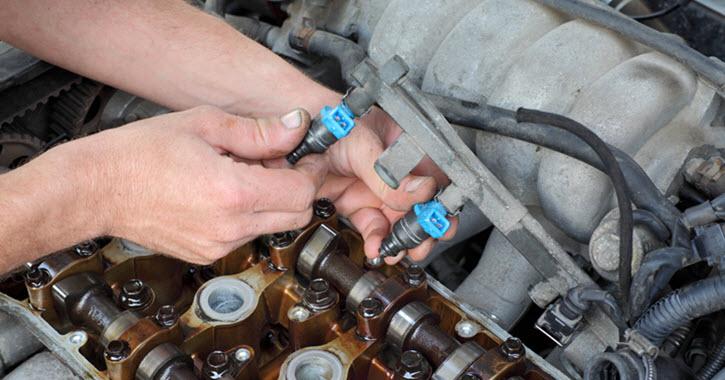 Mercedes Fuel Injectors Check