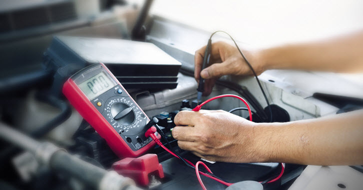 Land Rover Battery Check
