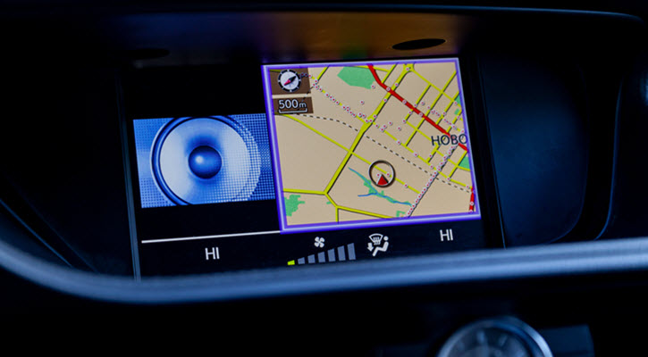 Land Rover Infotainment System
