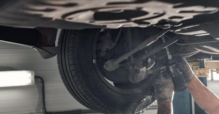 Volkswagen Rear Spring Inspection
