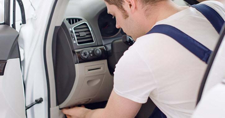 Land Rover Airbag Repair