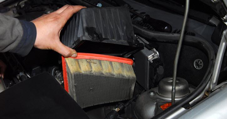 Porsche Air Filter Replacement