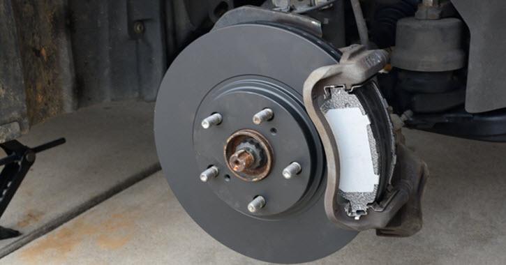 Sprinter Van New Brake Rotor Installation
