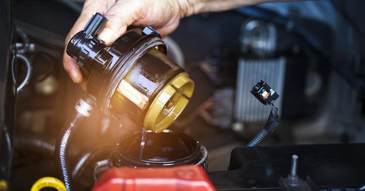 Maserati Fuel Filter Inspection
