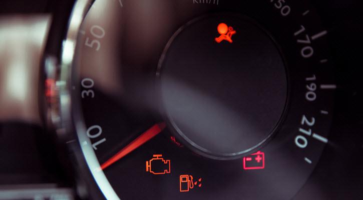Volkswagen Illuminated Airbag Warning Light
