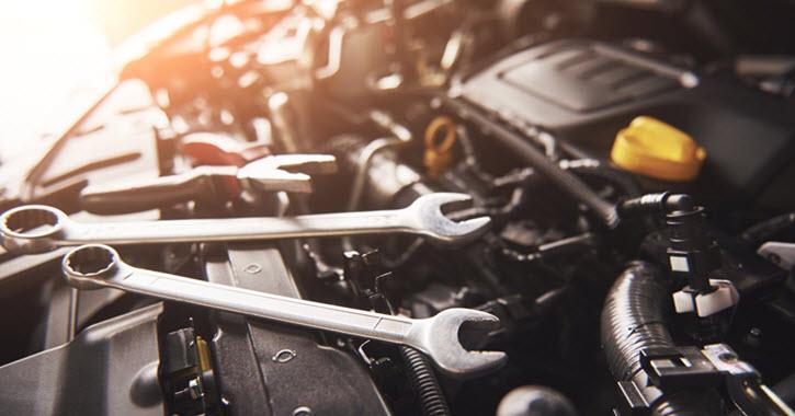 Maserati Engine Inspection